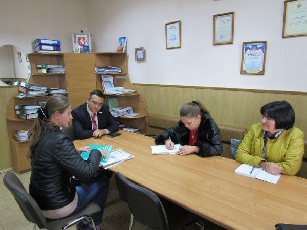 Михаил Макеев провел прием граждан в селе Мазанка