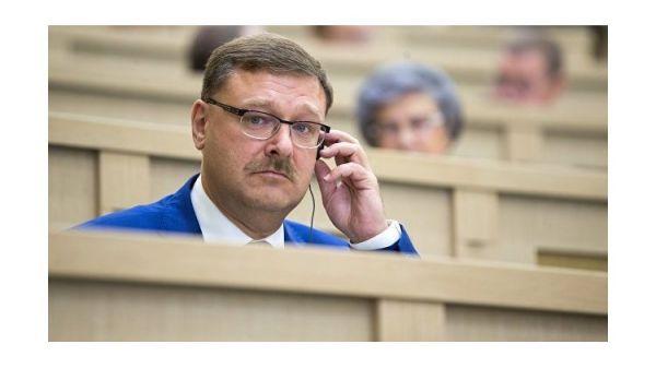 """Косачев о компенсации Украине за Крым: """"попытка - не пытка"""""""