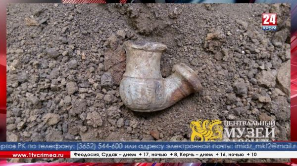 Вблизи Перекопского вала археологи обнаружили сенсационные находки