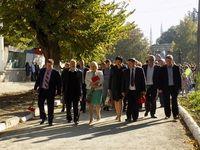 Глава администрации Белогорского района Галина Перелович приняла участие в праздновании Дня города Белогорск