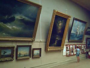 Картинная галерея Айвазовского нуждается в ремонте