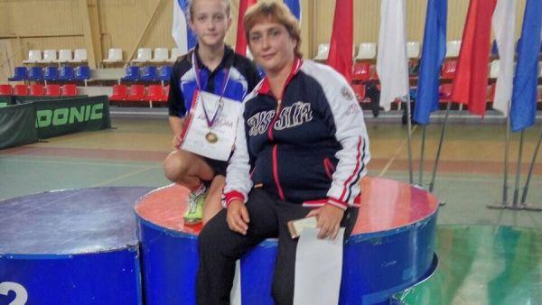 Вера Червонопольская из Ялты стала победительницей Всероссийского турнира по настольному теннису в Йошкар-Оле