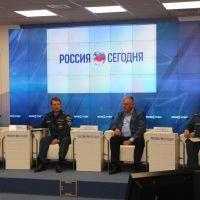 Пресс-конференция крымских спасателей в МИА «Россия сегодня»