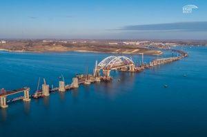 Керченский мост уже профинансировали на 75%