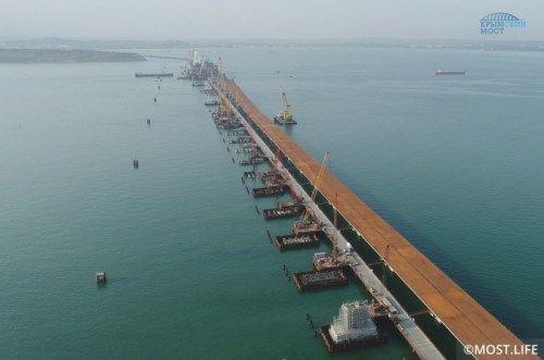 Специалисты пожаловались на сложности при возведении керченского моста