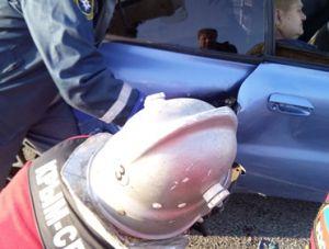 За сутки спасатели дважды ликвидировали последствия ДТП