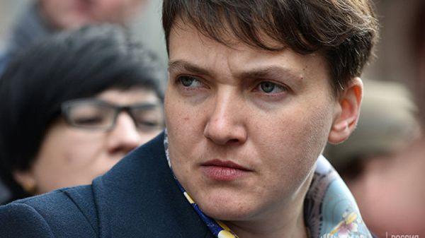 Вглобальной сети  появилось видео, где Надежда Савченко «отжигает» под Верку Сердючку