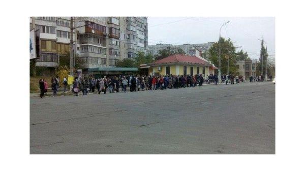 Забастовка перевозчиков парализовала движение публичного транспорта вХерсоне