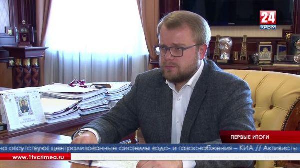 Сергей Аксёнов обсудил с Дмитрием Полонским результаты рабочей поездки членов крымского правительства в Бахчисарай и Бахчисарайский район