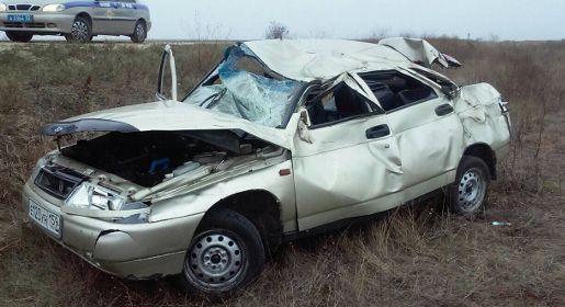 Один человек погиб и двое пострадали при попытке обгона под Феодосией