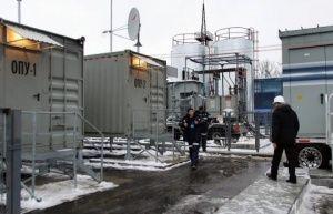 В Крым поступили четыре газотурбинные электростанции