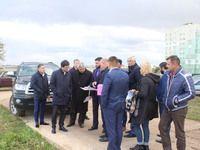 Ленур Абдураманов с рабочим визитом посетил Сакский район и город Саки