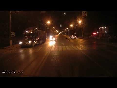 В сети появилось видео смертельного ДТП с пешеходом в Симферополе