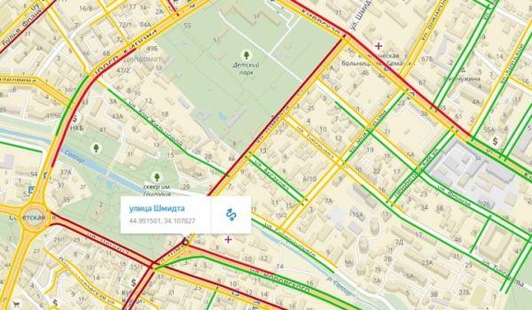ВСимферополе временно отключили новый светофор вцентре города— Лукашев