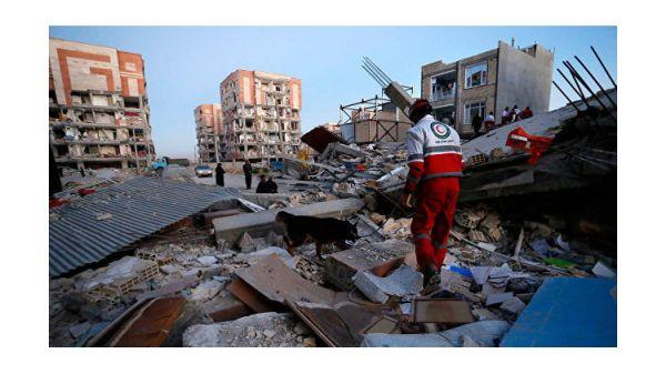 Последствия катастрофического землетрясения в Иране