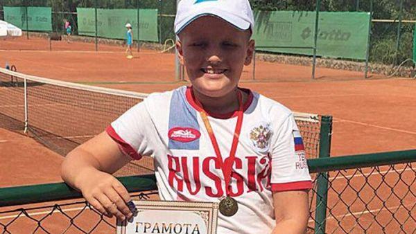 Юный симферополец выиграл престижный турнир Российского теннисного тура