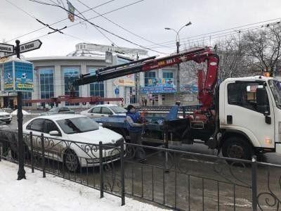 В столице Крыма станет больше эвакуаторов и ГИБДД