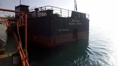 Под Керчью терпит бедствие сухогруз: судну недают зайти впорт