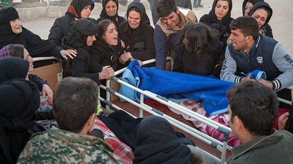 Землетрясение забрало жизни неменее 200 человек вИраке иИране