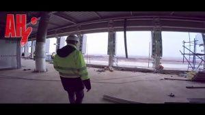 В аэропорту Симферополя строят веранду с видом на Чатыр-Даг