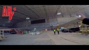В новом аэропорту Симферополя создают стену из травы