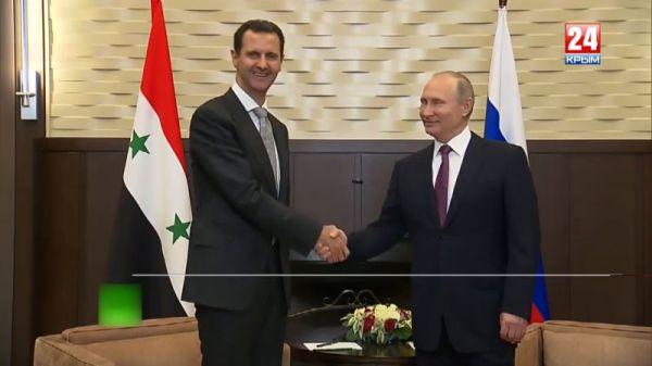 Владимир Путин заявил о скором завершении военной операции в Сирии