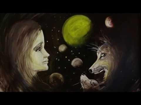 Крымская художница создала проникновенный клип из жидкого песка