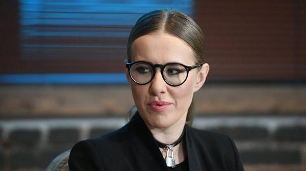 Собчак поведала опрокурорской проверке еезаявлений оКрыме