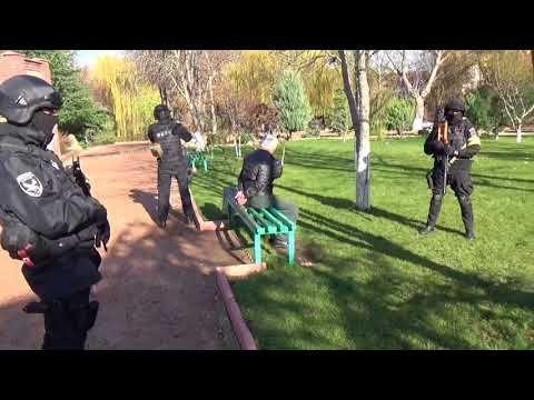 Появилось видео сегодняшнего резонансного задержания в Крыму