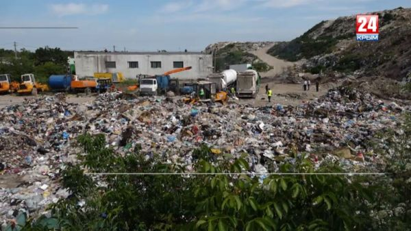 Убрать лишнее. В Симферопольском и Красногвардейском районах закрывают незаконные свалки