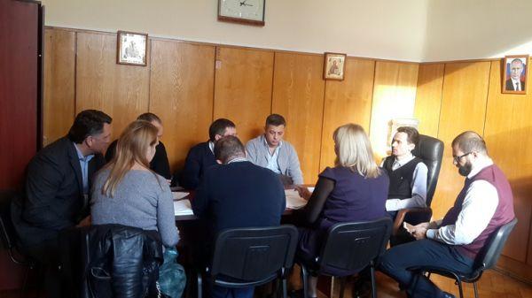 Максим Скорин провел рабочее совещание по вопросам проведения берегоукрепительных мероприятий в рамках ФЦП