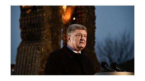 Украине нужен закон обответственности занепризнание голодомора— Порошенко