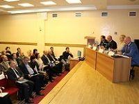 Начальник Крымфиннадзора Антон Кальков принял участие в публичных слушаниях по проекту бюджета Республики Крым