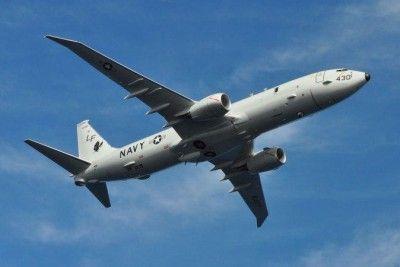 СУ-30 перехватил самолет армии США над темным морем
