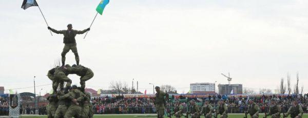 В Крыму сформирован первый десантно-штурмовой батальон