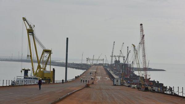 Крымский мост соединит берега доНового года