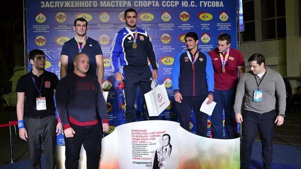 Алуштинский борец Сослан Хинчагов – победитель турнира памяти Юрия Гусова во Владикавказе!