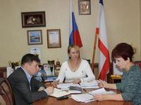 Галина Мирошниченко провела совещание по организационным вопросам