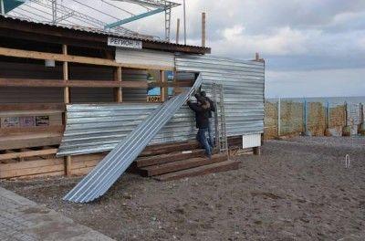 В Ялте приступили к сносам на набережной