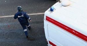 На объездной Симферополя сбили парня и девушку