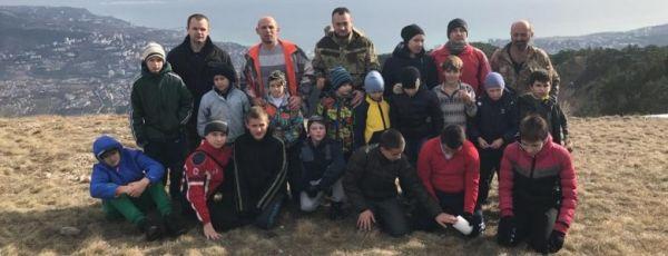 Ялтинские дзюдоисты покорили Узенбашскую тропу