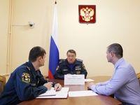 Глава Крымского подразделения МЧС провел прием граждан
