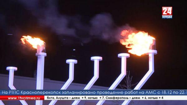 Первая свеча уже горит. Иудеи отмечают Хануку в центре крымской столицы
