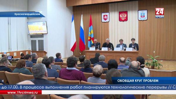 «Ситуация здоровая». Глава Крыма подвёл итоги выездных приёмов в Красногвардейский район