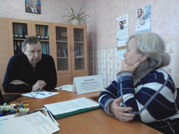 Владимир Локтионов провел очередной приём граждан в Красногвардейском районе