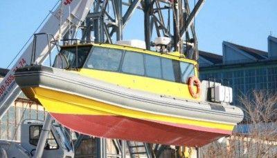 В Крыму спустили на воду новый быстроходный катер