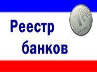 Обновлен «Реестр банков»