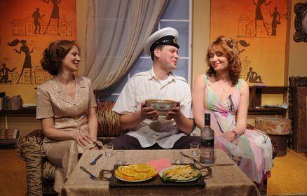 В городах республики продолжаются гастроли Крымского академического русского драмтеатра