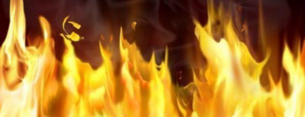 В Ялте горел двухэтажный дом