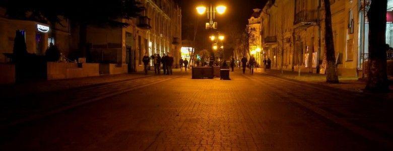 Симферополь: прогулка по ночному городу